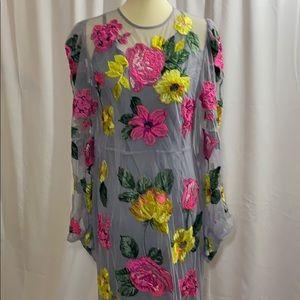 ASOS long flowers 💐 dress